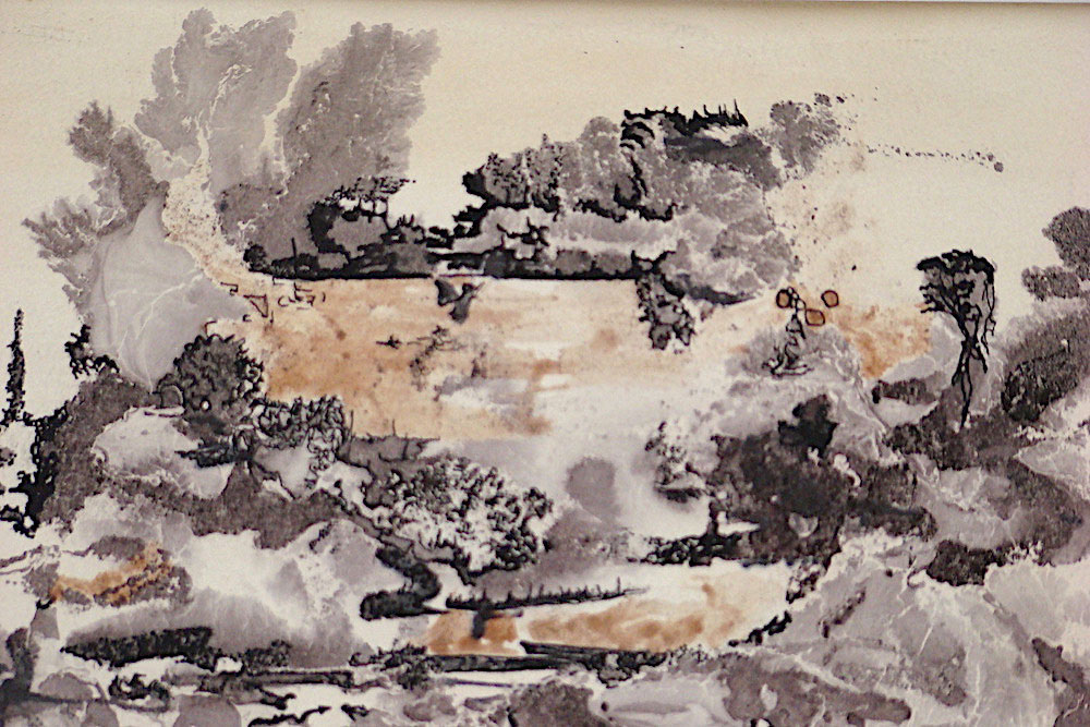 "Where Is She?, 5""x7"", ink on paper, 1965"